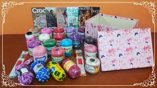 Sorteio Blog Carla Cristina & Crochet