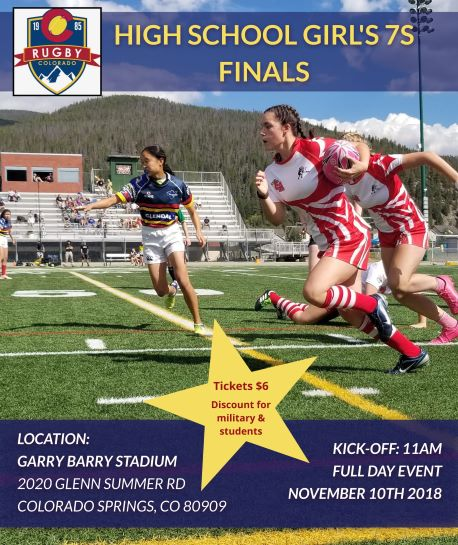 Rugby Colorado High School Girls