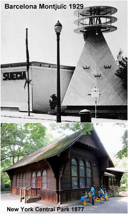 Swedish Cottage Central Park 1877 Hoy la cabaña sueca es el hogar de la compañía pública Marionetas