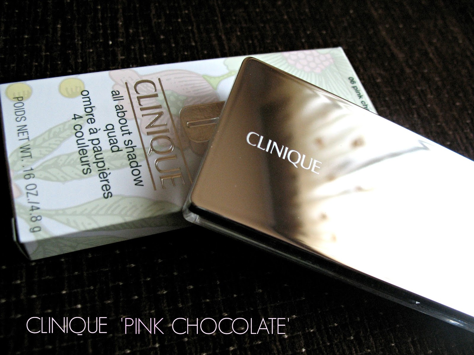 Clinique All About Shadow Quad 'Pink Chocolate'