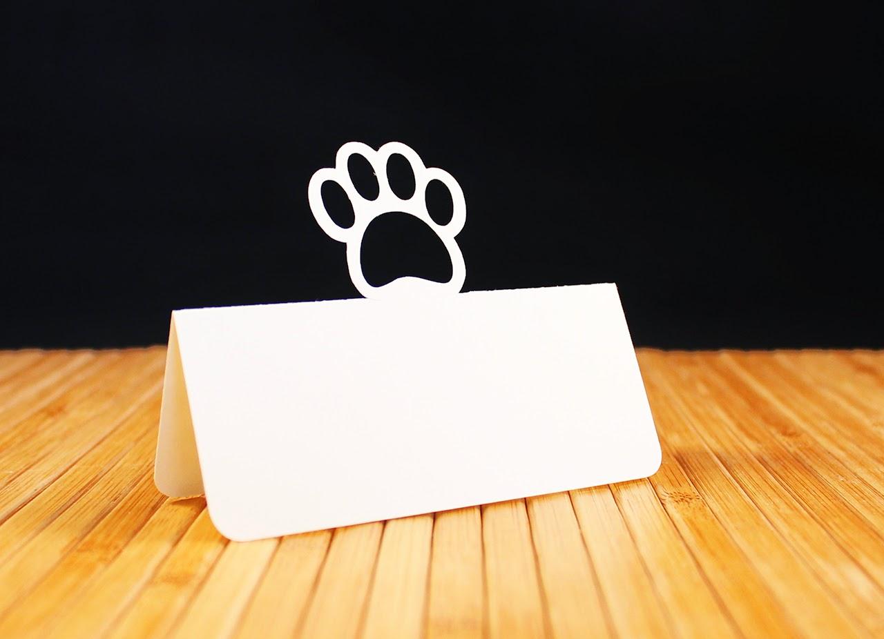 http://www.tiffzippy.com/paw-print-place-cards/