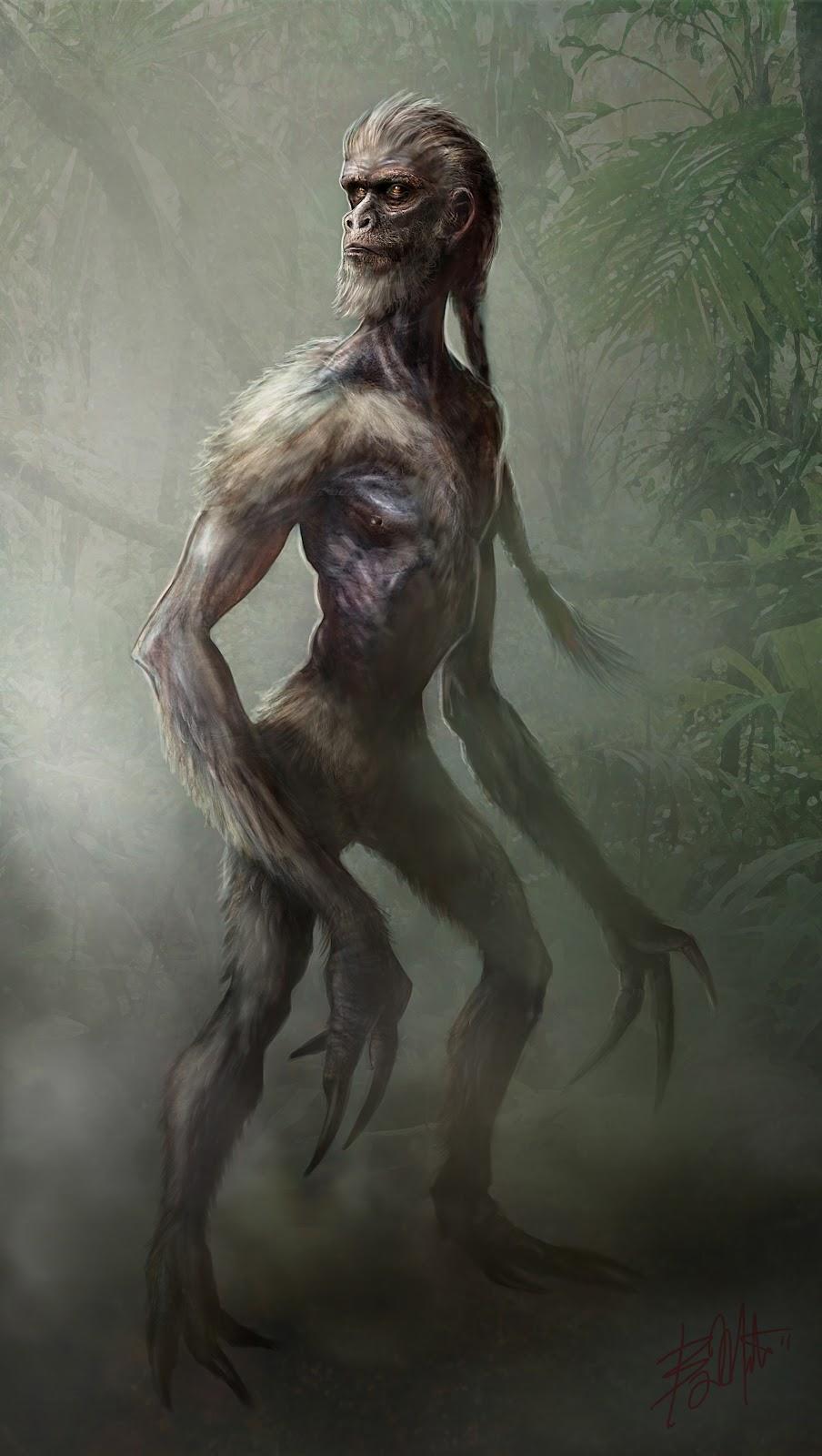 Humanoid Creature Design