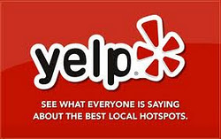 Check us out on Yelp.