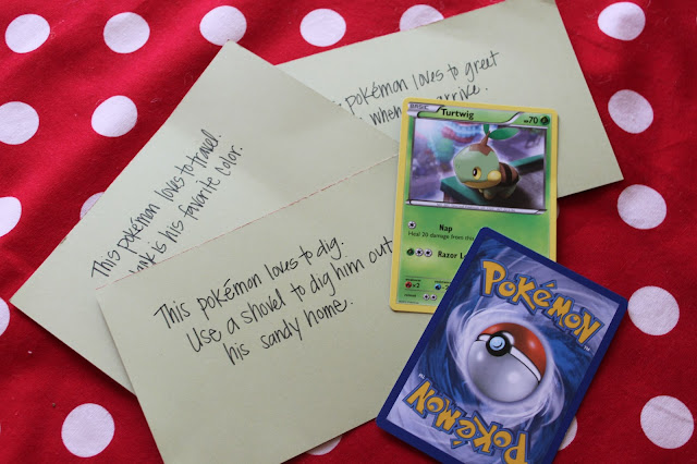 The Garners: Campbell's Pokemon Party