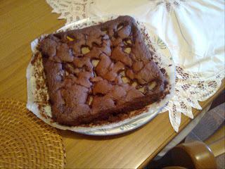 torta di pere e cioccolato: