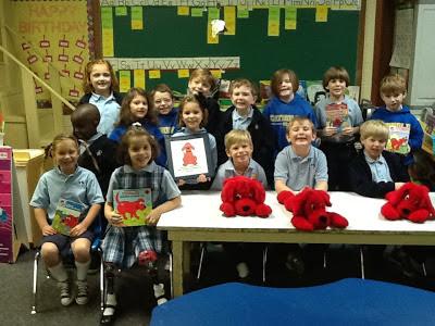 MCPS Kindergarten Celebrates Clifford's 50th Birthday! 1