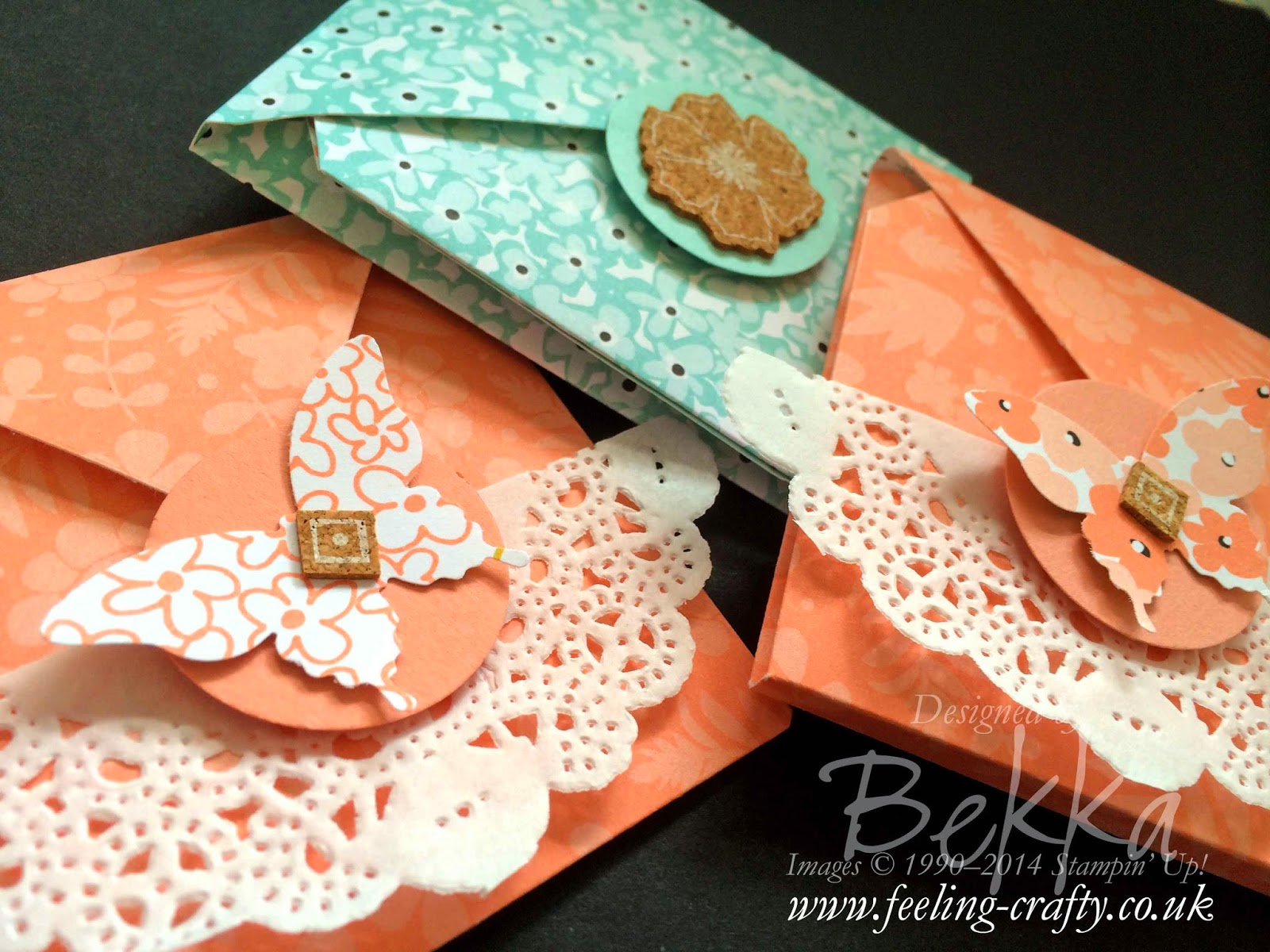 Sweet Sorbet Tea Bag Holders - there is going to be a tutorial for these!