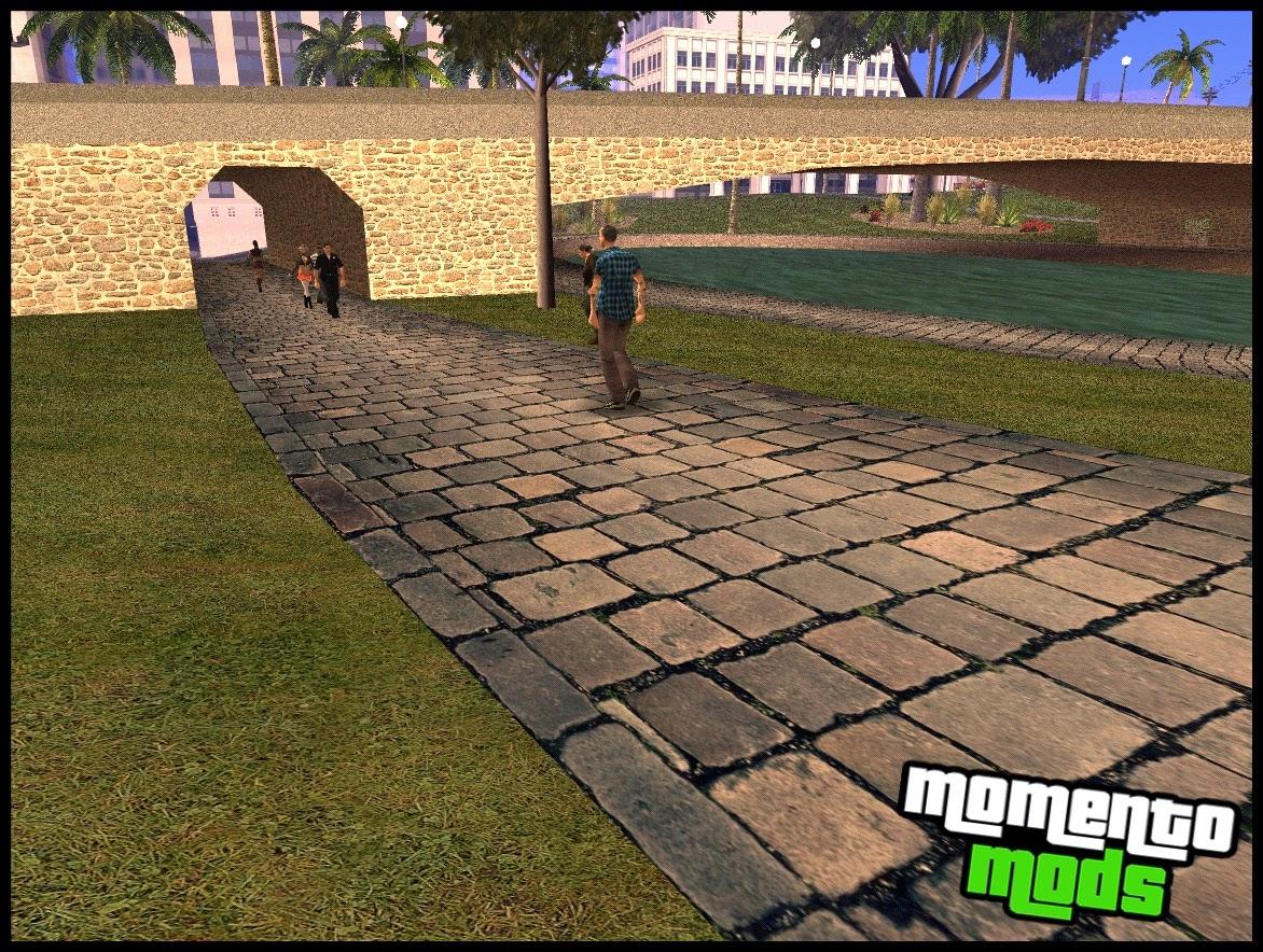 GTA SA - Glen Parck Em HD