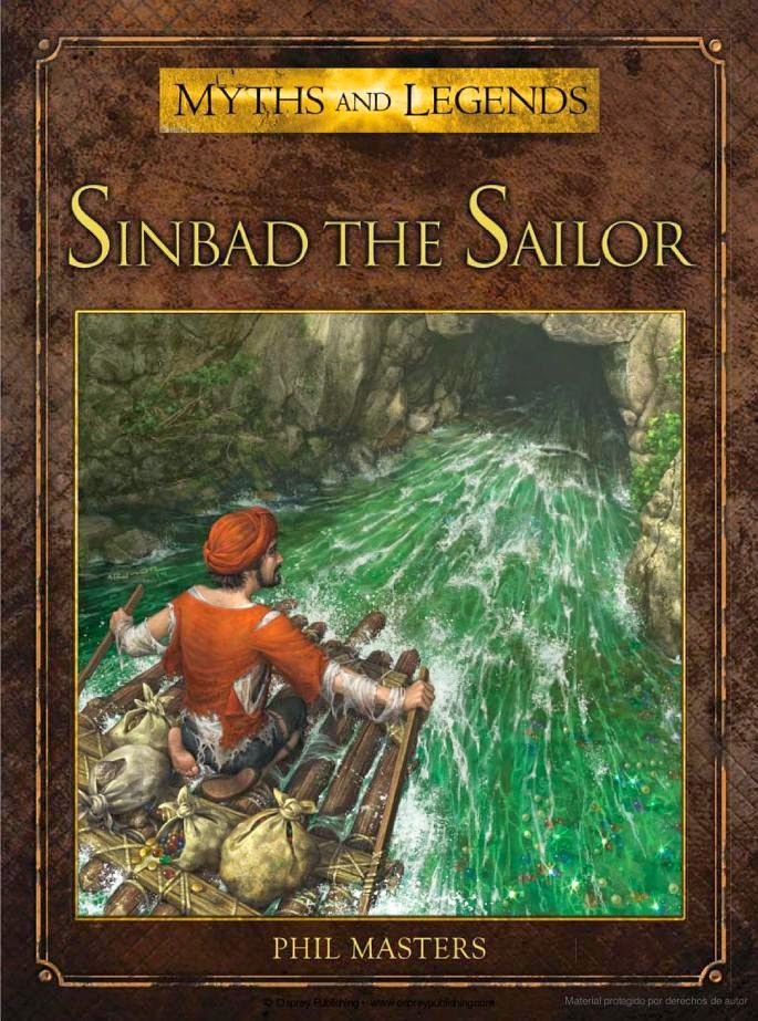 Sinbad the Sailor book illustrated by RU-MOR for OSPREY Publishing, colection Myths and Legends. Sinbad el Marino
