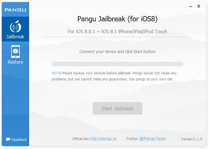 Download Alat Jailbreak PanGu iOS 7/8 | Cara Jailbreak | Tutorial ...