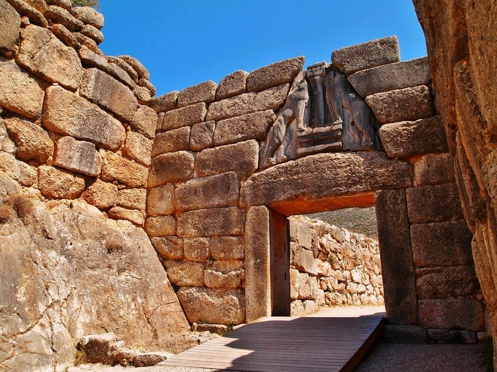 Chi viaggia impara immagini dal mondo grecia u - La porta dei leoni a micene ...