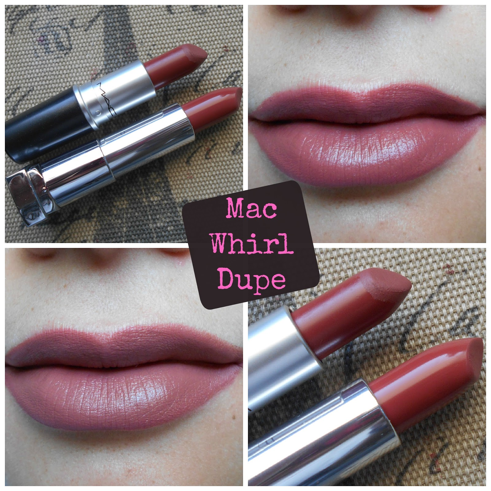 abbastanza Makeup, Fashion & Royalty: Dupe Alert: Drugstore Dupe Of Mac Whirl  NI45