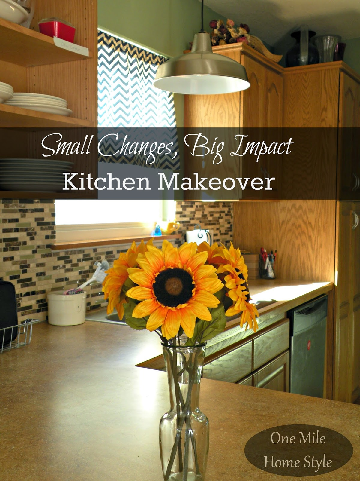 Small Changes, Big Impact Kitchen Mini-Makeover