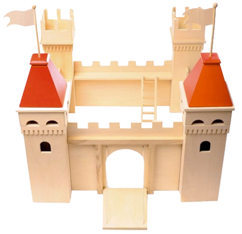 Wooden Castle from Acorn Toy Shop