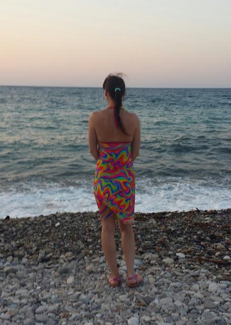 Samos, La playa Sommerkleid