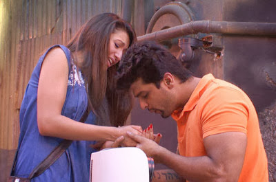 Kushal ex candy in Bigg Boss house