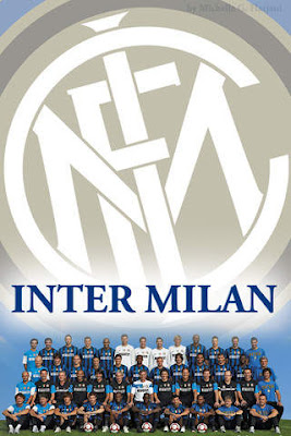 Inter Milan Squad For iPhone Wallpapers
