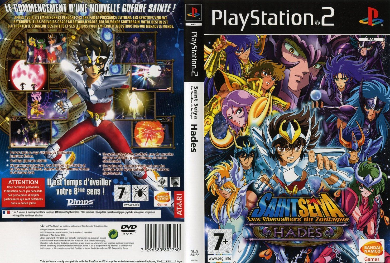 Saint Seiya | The Hades |Emulado PC |MG