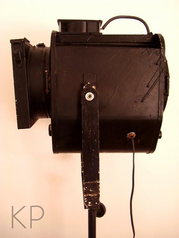 Focos antiguos online. Comprar foco de cine vintage. Tienda precios valencia.