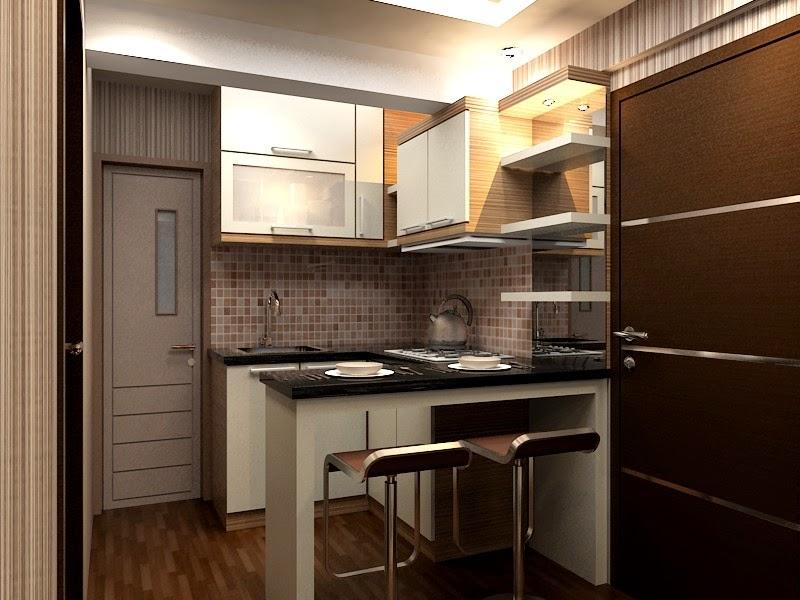 Desain interior apartemen konsep minimalis dengan nuansa for Design apartemen 2 kamar