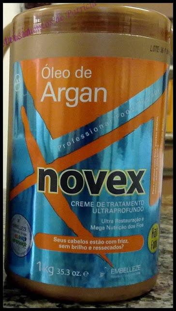 resenha Creme de Tratamento Ultraprofundo Novex Embelleze Óleo de Argan