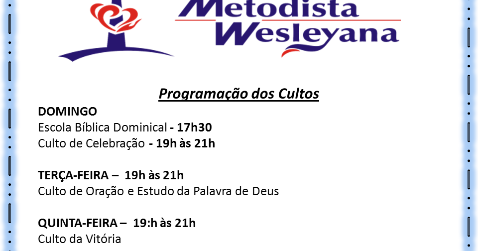 Igreja Metodista Wesleyana De Cantagalo Escola Bíblica De Férias