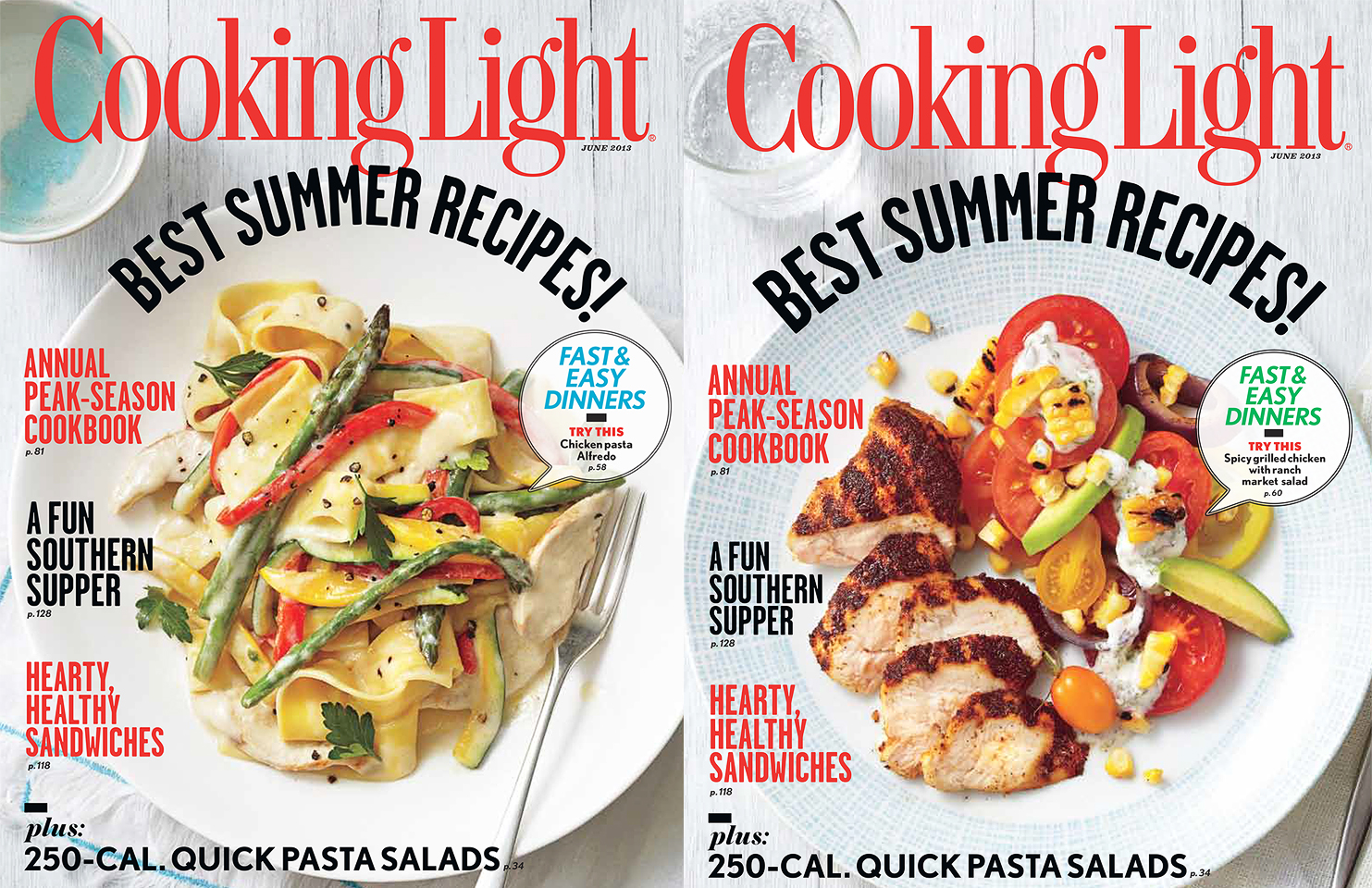 Cooking Light Magazine: June 2013