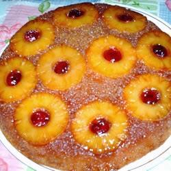 Torta con Glaseado de Piña