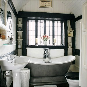 Cottage style bathroom design ideas for English cottage bathroom ideas