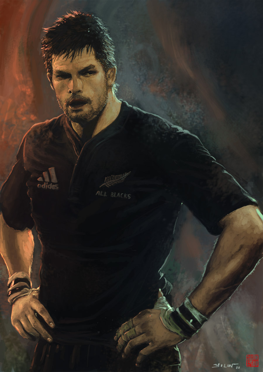 Yilin Art Blog Richie Mccaw
