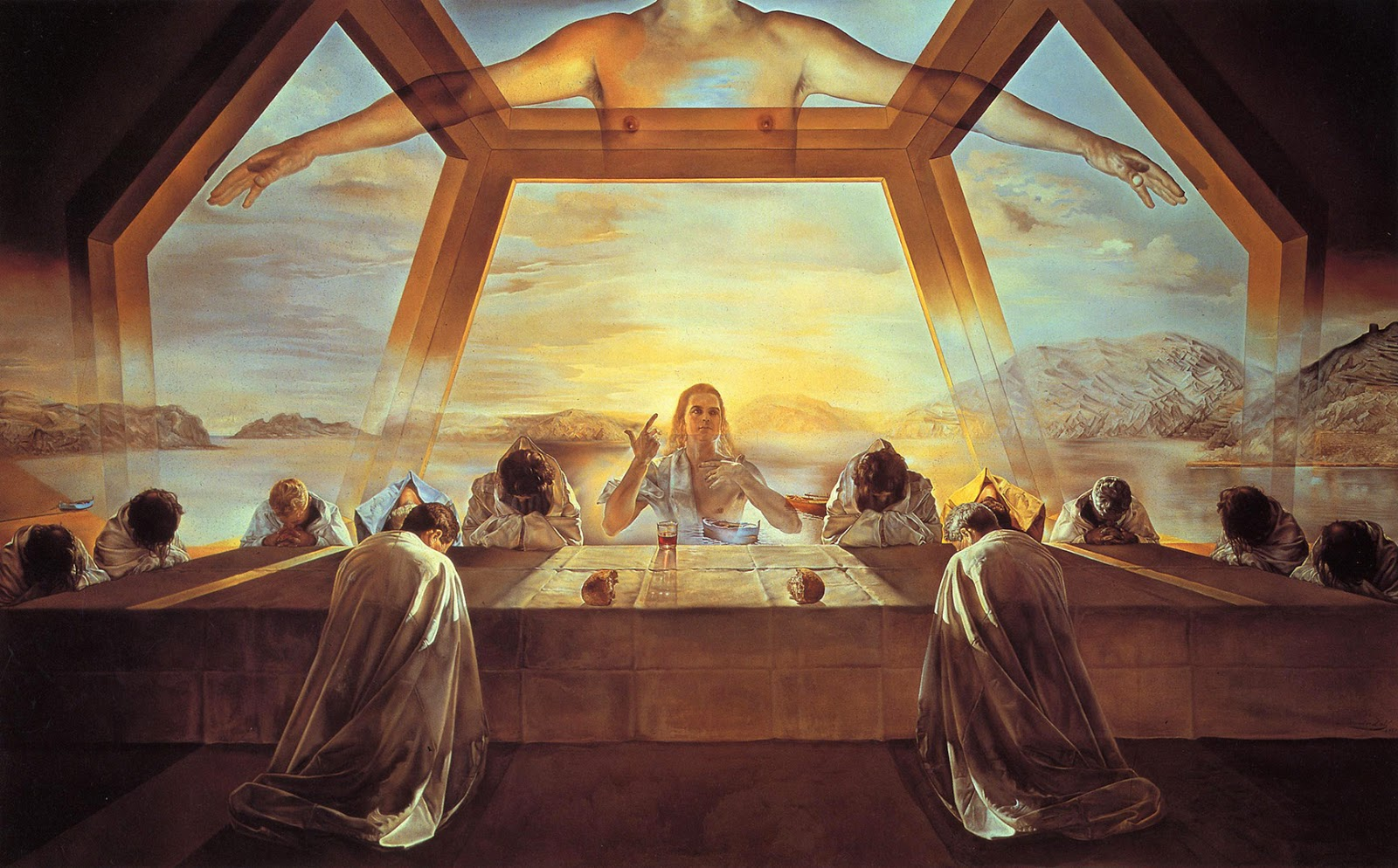 L'art contemporain  Last+Supper+Dali