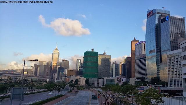 Central Hongkong Skyline