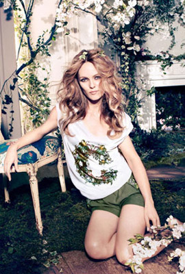 H&M primavera 2013 Conscious short camiseta