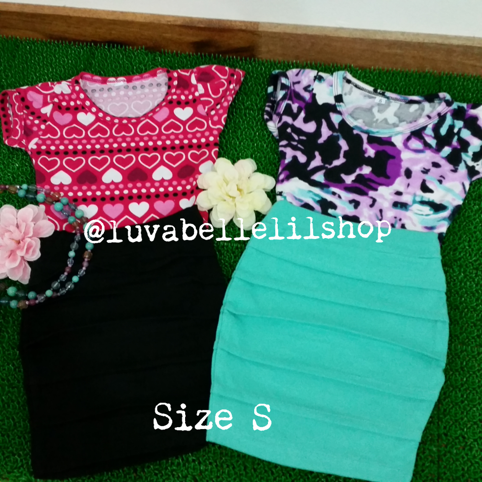 Pencil/Bandage and Skater Skirts for Girls