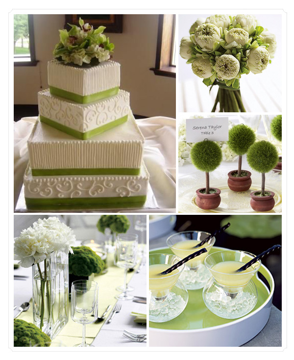 Mummy's Little Dreams: Green Wedding Theme