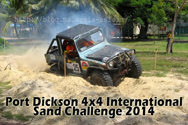 PD 4x4 International Sand Challenge 2014