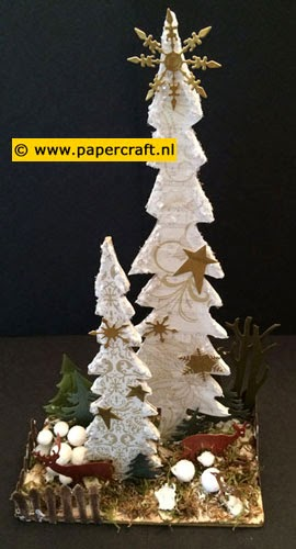 MDF Tree Set van Dutch Doobadoo