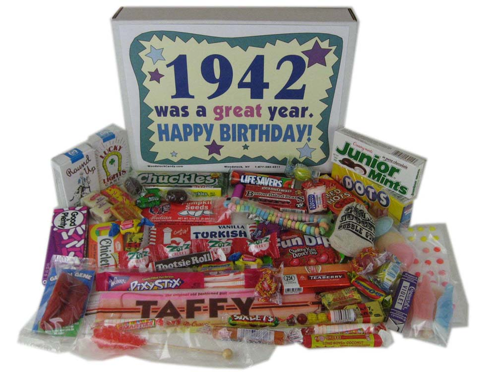 Woodstock Candy Blog: Gift Ideas for the 70th Birthday Party Woodstock ...