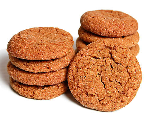 ... ... 'cause this mama is short on time: Molasses Ginger Snap Cookies
