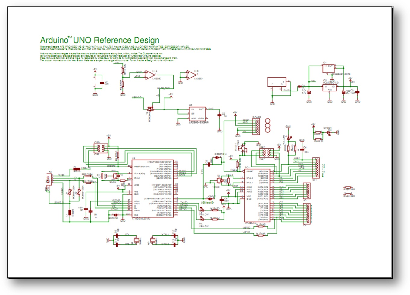 Basic arduino uno r pinout poster available soon