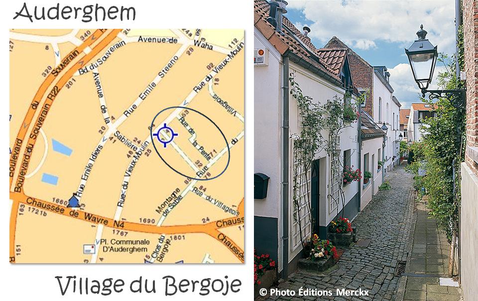 Village du Bergoje - Rue de la Pente - Rue du Verger - Auderghem - Bruxelles-Buxellons