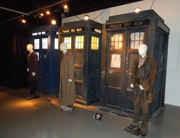 Doctor Who Day of the Doctor costumes TARDIS