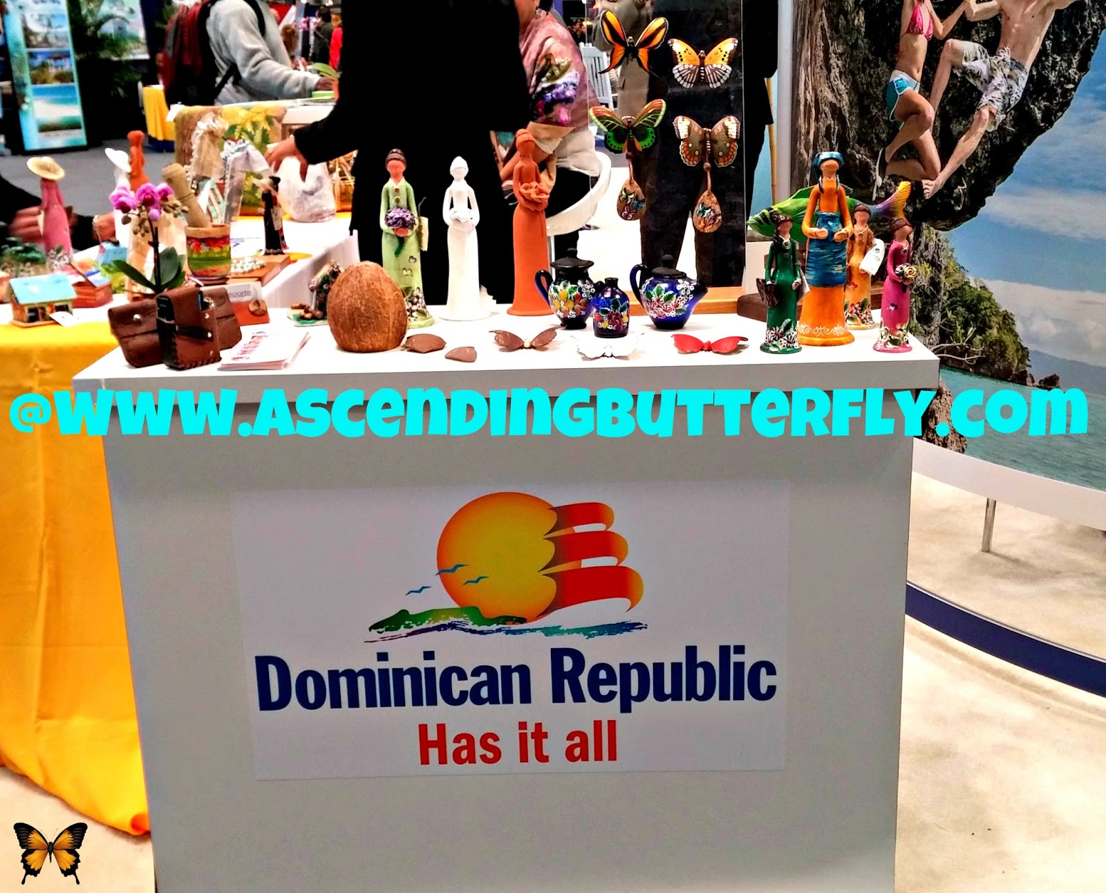 Dominican Republic Tourism Display at New York Times Travel Show