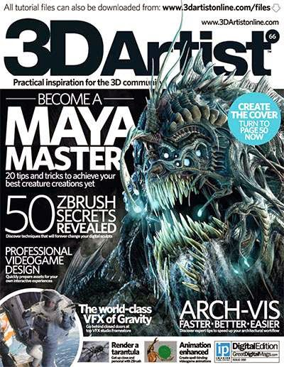 3D Artist Magazine Issue 66 2014