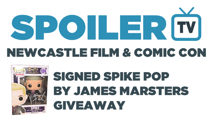 COMPLETED: Newcastle Film and Comic Con - Signed James Marsters funko POP Giveaway