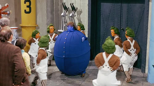 Willy Wonka, Charlie and the Chocolate Factory, Violet Beauregarde, chewing gum