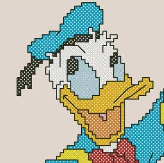 Tricksy Knitter by Megan Goodacre: Donald Duck