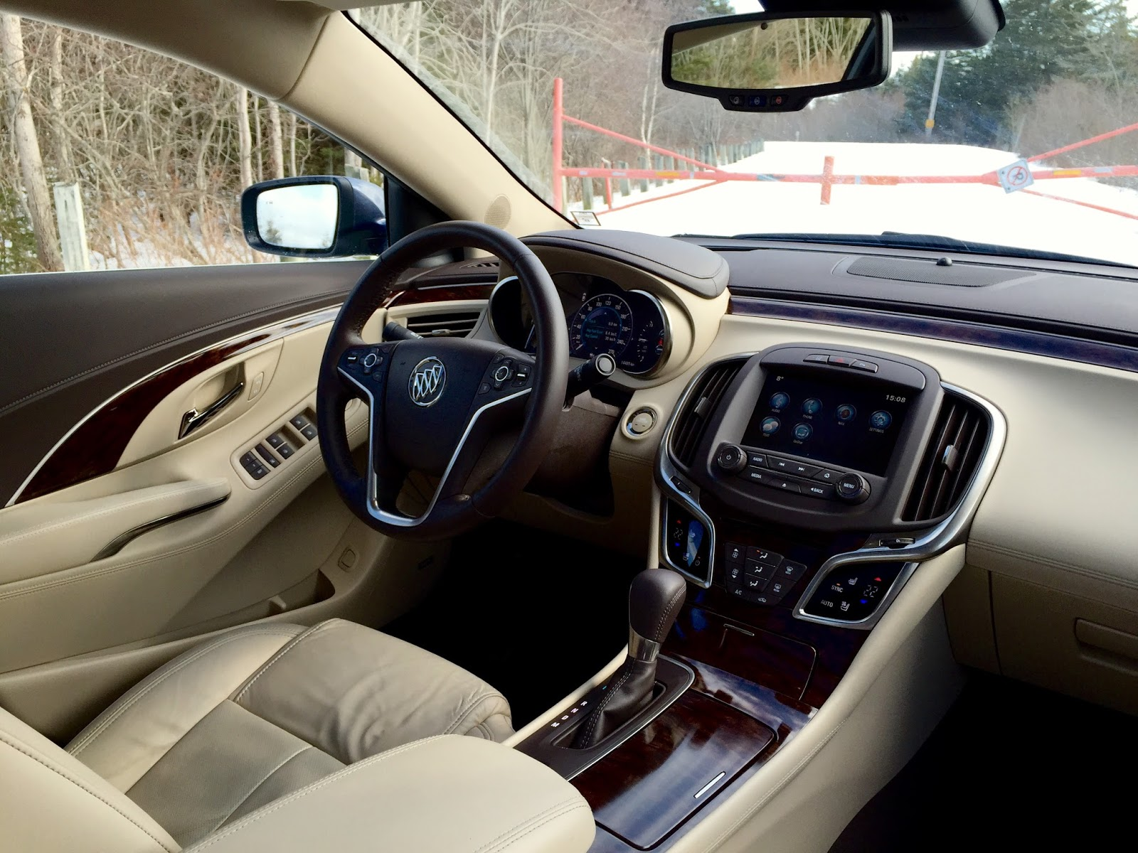 2015 buick LaCrosse Premium 1 interior