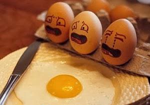 Imagenes Graciosas, Huevos Sufriendo