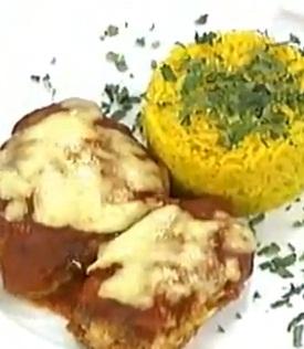 Receta Pollo Parmesano Delicioso